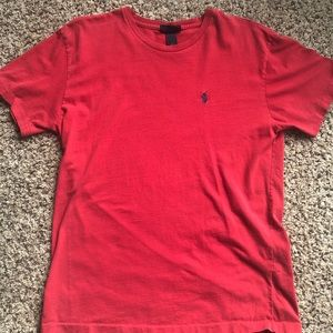 Authentic Red polo t-shirt